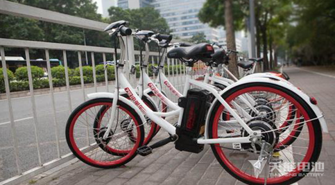 天能电池助力7号电单车