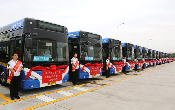 青岛温馨巴士搭载微宏动力电池