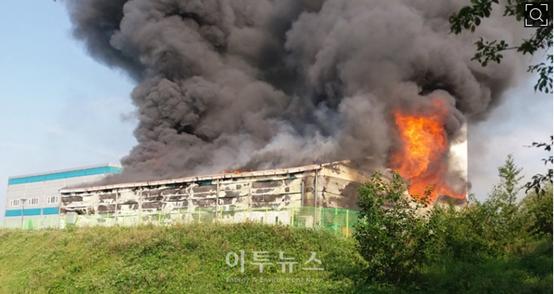 韩国储能电站起火爆炸