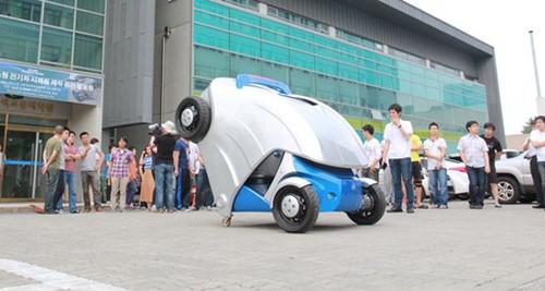 韩国设计折叠式armadillo-t型电动车