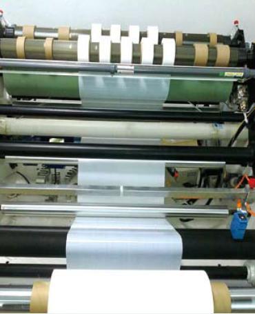 """""""现阶段中国锂电池隔膜企业要上涂覆隔膜产线图片"""